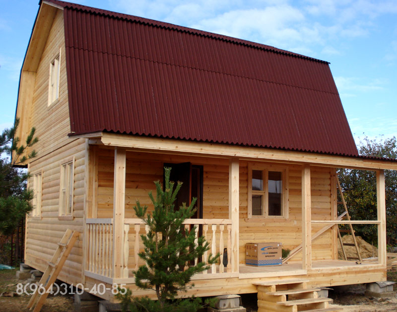Дачный домик своими руками 5х5 10