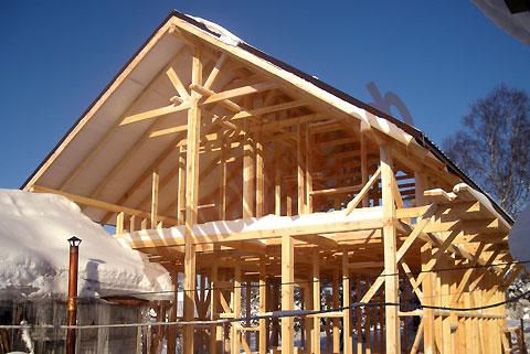 конструкция стены каркасного дома